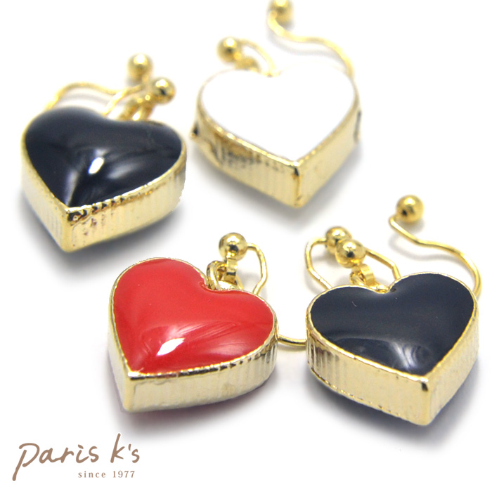 Acme puffy boobs-fun heart earrings | Cute cheap non Hall pierced earrings like earrings piercing wind earrings Hara-Juku series kids heart-part summer 02P30May15