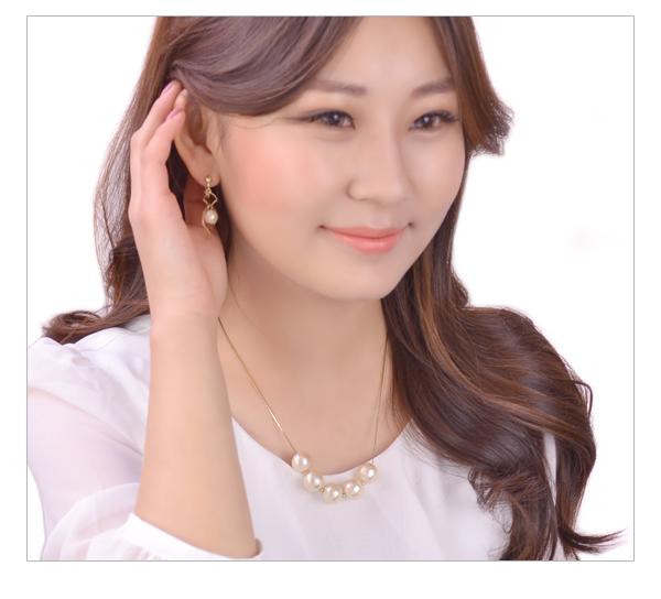 ネックレスコットンパールキスカ five Luxury's pearl