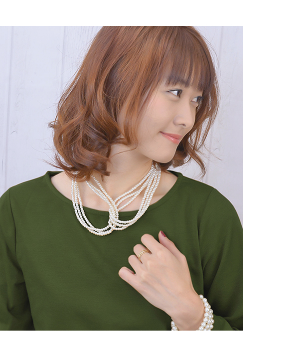 Necklace pearl design gorgeous wedding ceremony party Luxury's reckoning collar tippet windward product invite