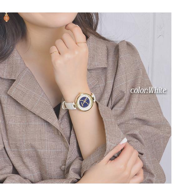 腕時計 ウォッチ レディース フェイクレザー 星座 星空 夜空 惑星 プラネット キラキラ ラインストーン 女の子 ファッション 可愛い 女性 誕生日 入学祝い 入社祝い j3s 母の日 プレゼント 花以外 ギフト 母の日ギフト