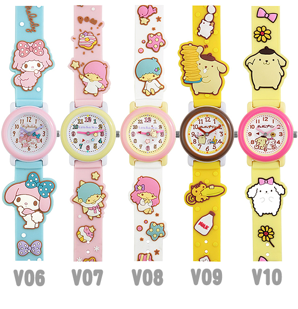 Sanrio characters watch subaqua Hello Kitty my melody little twin stars Pompom pudding points 10 times!