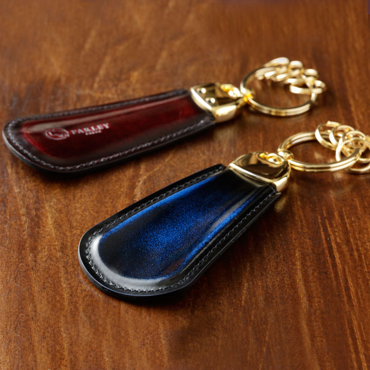 parley | Rakuten Global Market: ◆A craftsman is hand polishing after make shoehorn key ring ◆ product; gradation! [handmade leather studio パーリィー direct marketing leather accessory polishing leather made in Japan