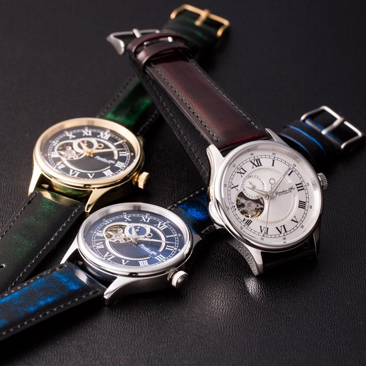 ◆grp013 クラシック腕時計◆PARLEY CLASSIC×GRANDEUR PLUS+コラボウォッチ