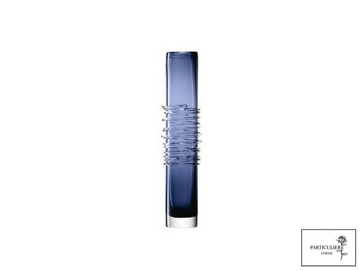 ハンドメイド花器(青)