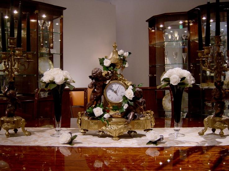 超爆安  時計時計 (プリザーブド装飾付), 店舗をもたないスイーツ店:06e2ee3a --- irecyclecampaign.org