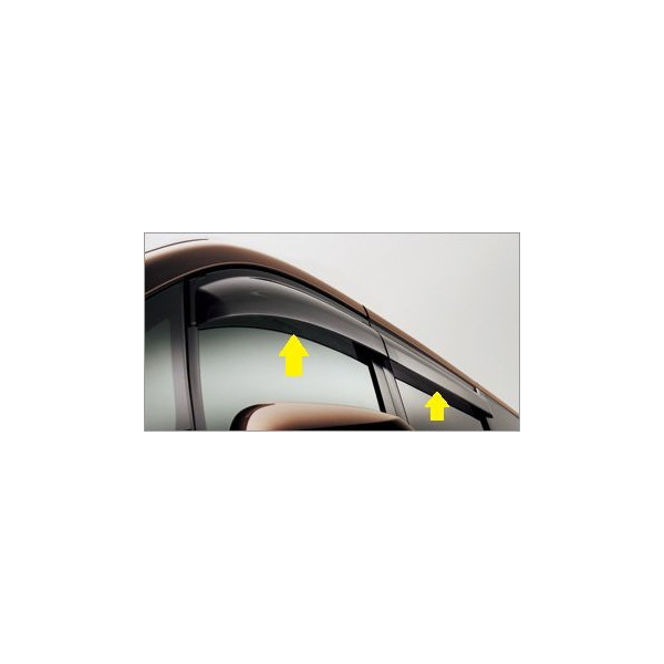 OYOTA(トヨタ)/純正 サイドバイザー RVワイドタイプ 08611-28200 /エスクァイア/ノア/ヴォクシー