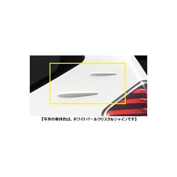 TOYOTA(トヨタ)/エアロスタビライジングフィンシルバーメタリック/[08157-47010-B0]/プリウスアルファZVW41W ZVW40W/