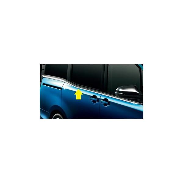 TOYOTA(トヨタ)純正/サイドウィンドゥモール(メッキ調)08165-28010/VOXY ヴォクシーZWR80G ZRR80W ZRR85W ZRR80G ZRR85G/