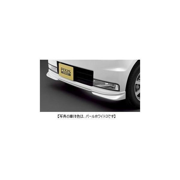TOYOTA(トヨタ)純正/フロントコーナースポイラーブラックマイカメタリック/08154-B2010-C0/ピクシススペースL575A L585A/