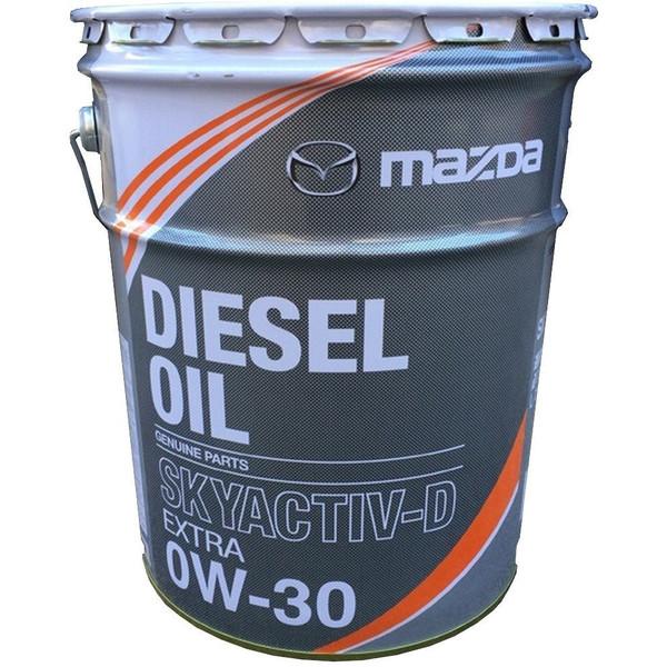 自動車用品 自動車部品 オイル 買取 ケミカル用品 MAZDA マツダ ディーゼルエクストラ SHD0 W0 0A0 20L 新商品 0W30 SKYACTIV-D