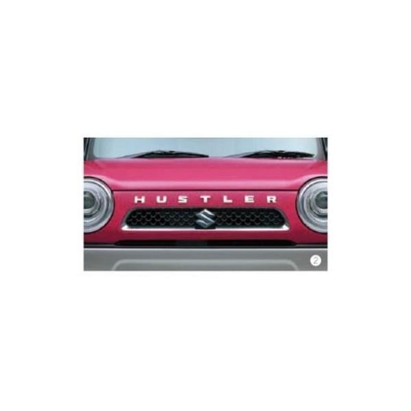 SUZUKI(スズキ)/純正 フロントエンブレム HUSTLER 99000-99097-H02 スペリアホワイト /ハスラー
