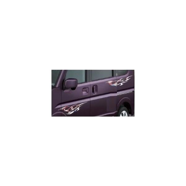 SUZUKI(スズキ)純正/サイドデカール(左右セット)フレア/99000-99035-E07/エブリイワゴンDA17V DA17W/