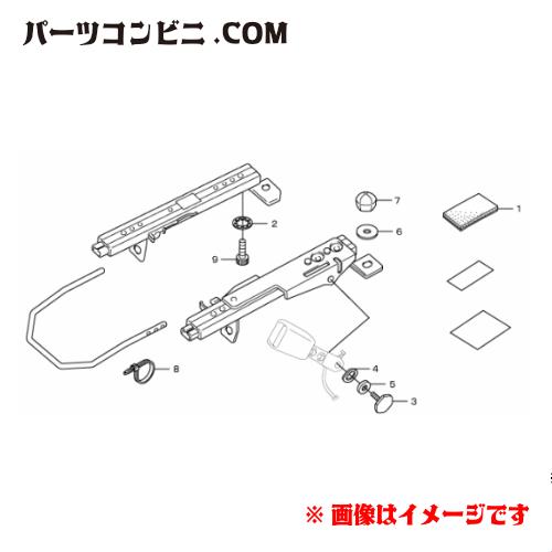 HONDA(ホンダ)/純正 スポーツシート ベースフレーム 運転席用 08R50-SZT-001A /CR-Z