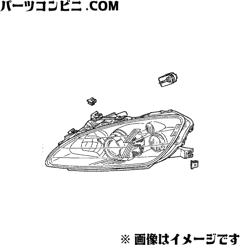 HONDA (ホンダ)/純正 ヘッドライトユニット R(運転席側)  33101-S2A-J21 /S2000