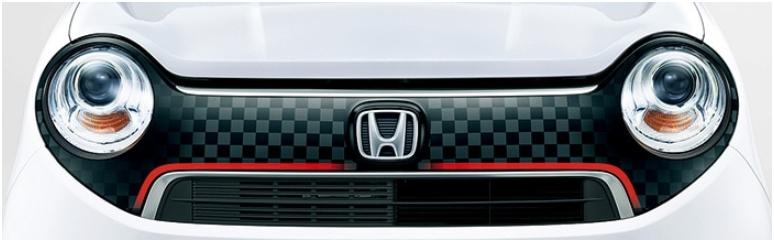 Honda ホンダ 純正 デカール フロントグリル (チェッカー)08F31-T4G-A00  N ONE N-ONE エヌワン JG1 JG2