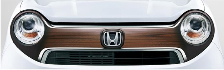 Honda ホンダ 純正 デカール フロントグリル (ヴィンテージウッド)08F31-T4G-B00 N-ONE エヌワン JG1 JG2