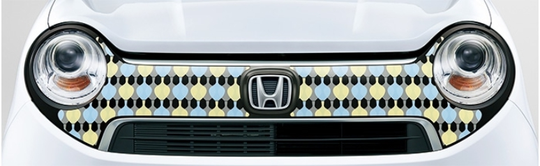 Honda ホンダ 純正 デカール フロントグリル (ミッドセンチュリー) 08F31-T4G-B00C  N-ONE エヌワン JG1 JG2
