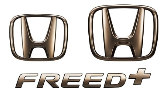 Honda ホンダ 純正 ダークエンブレム 08F20-TDK-000 フリード/フリードハイブリッド/フリードプラス/フリードプラスハイブリッド GB5/GB6/GB7/GB8