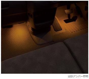 HONDA(ホンダ)純正 フットライト(LEDアンバー照明) 08E10-TDE-A00 N-BOX SLASH Nボックススラッシュ JF1 JF2