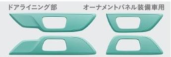Honda ホンダ 純正 インテリアパネル ドアライニング部 ミント 08Z03-E3E-BB0C N-WGN エヌワゴン/Nワゴンカスタム JH1 JH2