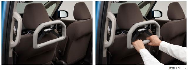 Honda ホンダ 純正 アシストグリップ ヘッドレスト取付仕様 スーパースライドシート仕様車 08U95-TTA-000 N-BOX /N-BOX CUSTOM