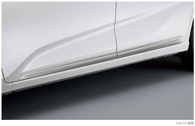 Honda ホンダ 純正 ドアロアガーニッシュ シルバー塗装 08F57-TDK-000A FREED /FREED HYBRID /FREED+ /FREED+ HYBRID