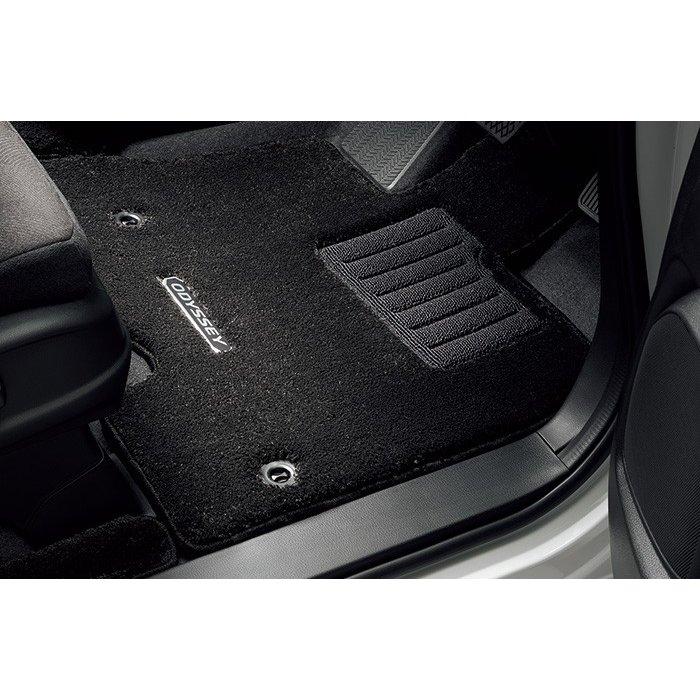 Honda ホンダ 純正 フロアカーペットマット プレミアムタイプ(ブラック) 2列目プレミアムクレードルシート車用 08P15-T6A-C10A オデッセイ