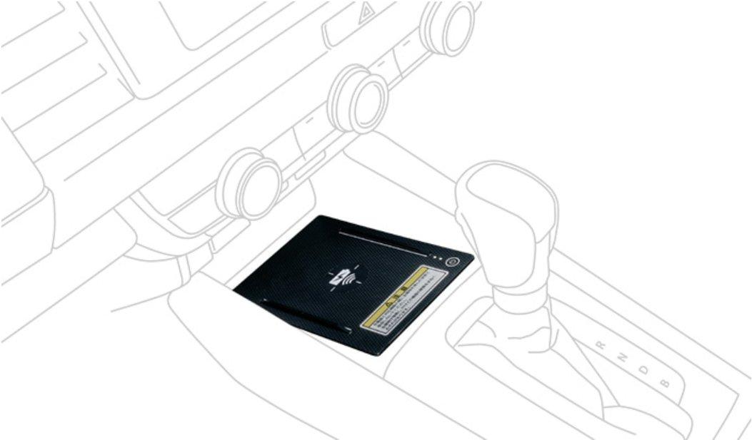 HONDA ホンダ 純正 ワイヤレス充電器  取付アタッチメントセット 08U58-TZA-000/08U58-TZA-A10A FITフィット/FIT E:HEV フィットe:HEV