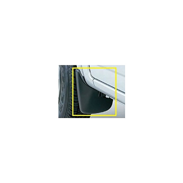 自動車用品 自動車部品 アクセサリ SUZUKI スズキ 純正 フロントマッドフラップセット セール商品 25%OFF ブラック 左右セット ジムニー 99000-99004-Z80