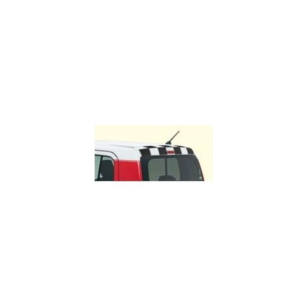 自動車用� 自動車部� SUZUKI スズキ 純正 ルーフデカール 商舗 99230-65P70 有�� �ェッカーストライプ ブラック �スラー AART