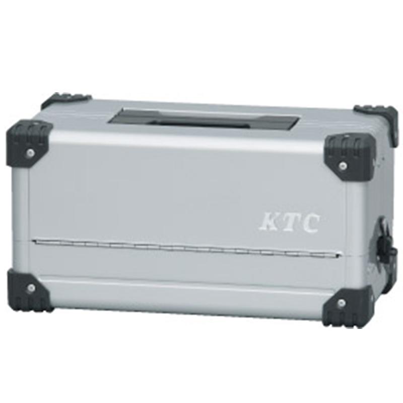 KTC(京都機械工具)/両開きメタルケース メタリックシルバー EK-10A 工具箱