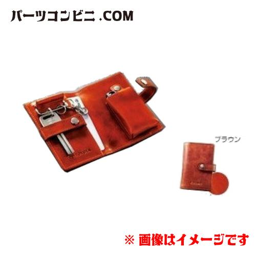TOYOTA(トヨタ)純正 本革キーケース ブラウン 08193-75010 CAMRY カムリ PRIUSα プリウスアルファ