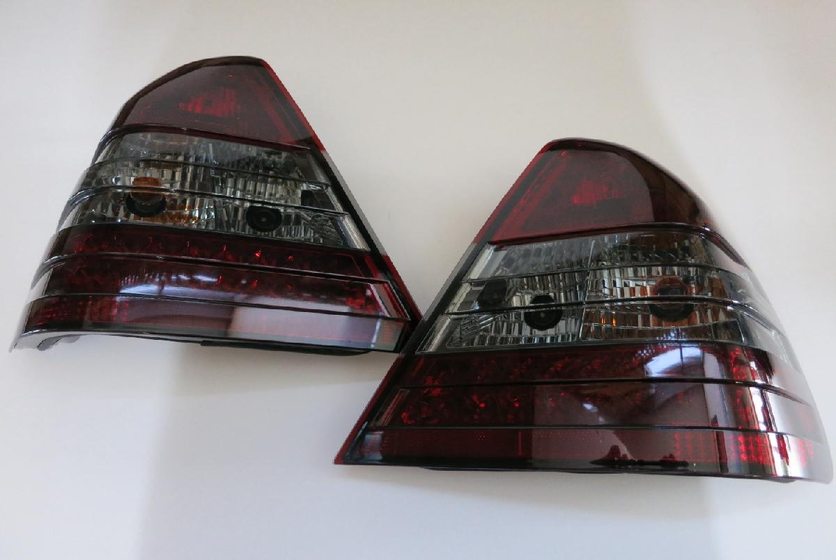テールライト Cクラス レンズ LED W202 94-00 SONAR(ソナー) メルセデス・ベンツ W202 テール レッド&スモーク ランプ Mベンツ