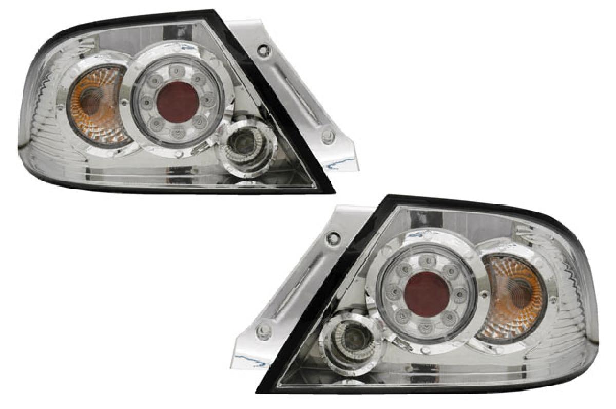 クローム テールライト ランサー LED レンズ ランプ 後期 SONAR(ソナー) クリスタル ランサー CS系 三菱 インナー テール