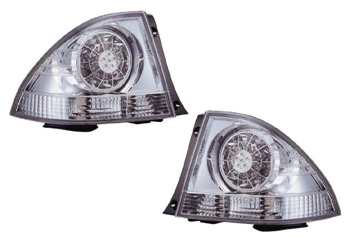 クリスタル レンズ トヨタ アルテッツア アルテッツァ クローム 98-05 GXE/SXE10 ランプ SONAR(ソナー) インナー テールライト テール LED