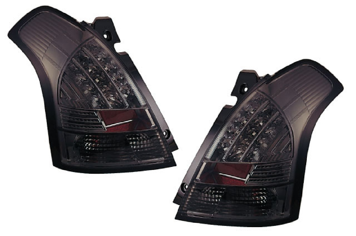 SONAR(ソナー) テールライト スズキ スイフト LED テール ランプ クローム インナー スモーク レンズ ZC/ZD スイフト