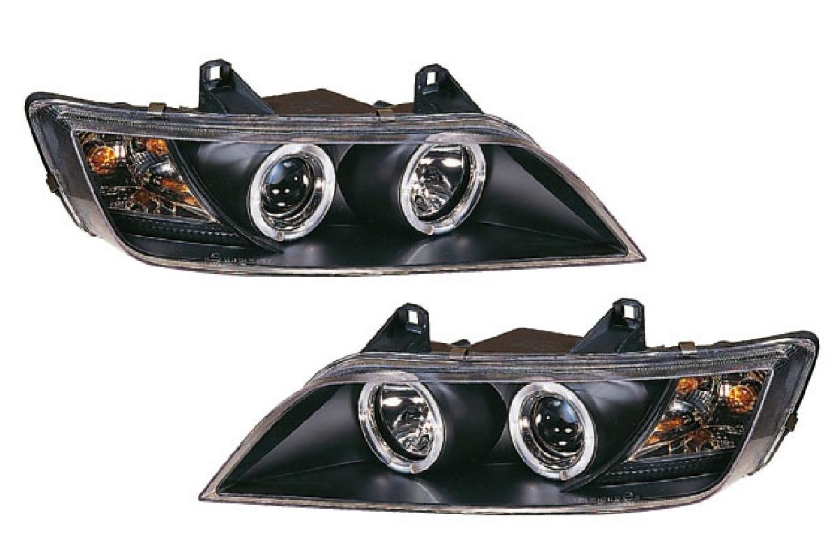 インナー 96-02 エンジェルアイ SONAR(ソナー) プロジェクター ブラック ヘッドライト Z3 Z3 BMW BMW ヘッドライト