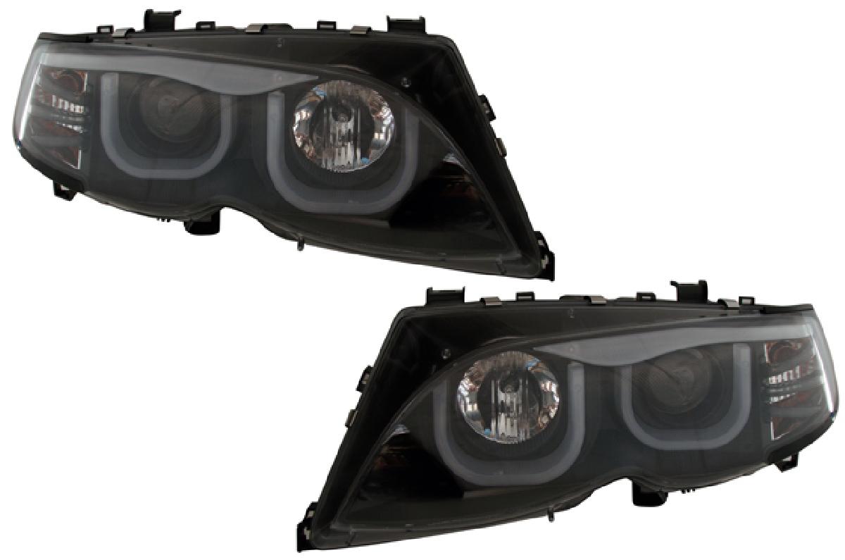 SONAR(ソナー) ヘッドライト BMW 3シリーズ VISIONスタイルプロジェクター ヘッドライト ブラック インナー 02-05 BMW E46 4D