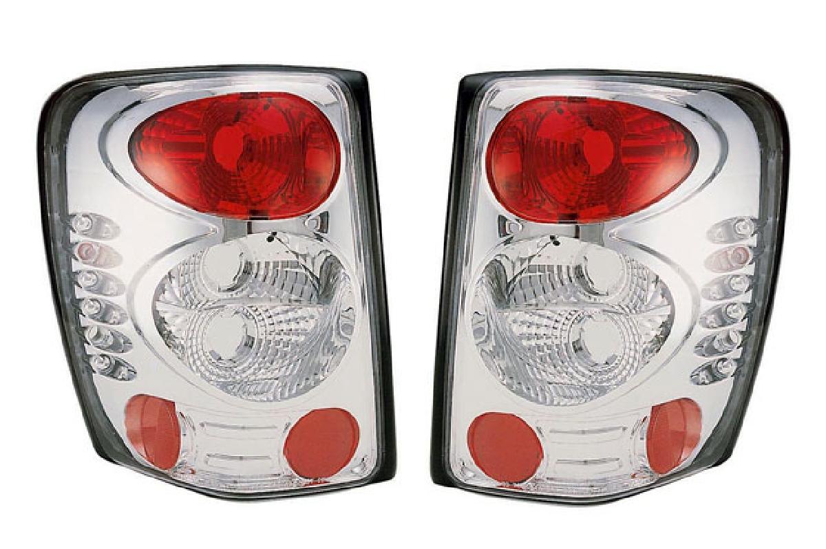 レンズ クライスラー ユーロ SONAR(ソナー) ジープ・グランドチェロキー ジープ テールライト クリスタル テール グランドチェロキー クローム ランプ 99-UP インナー