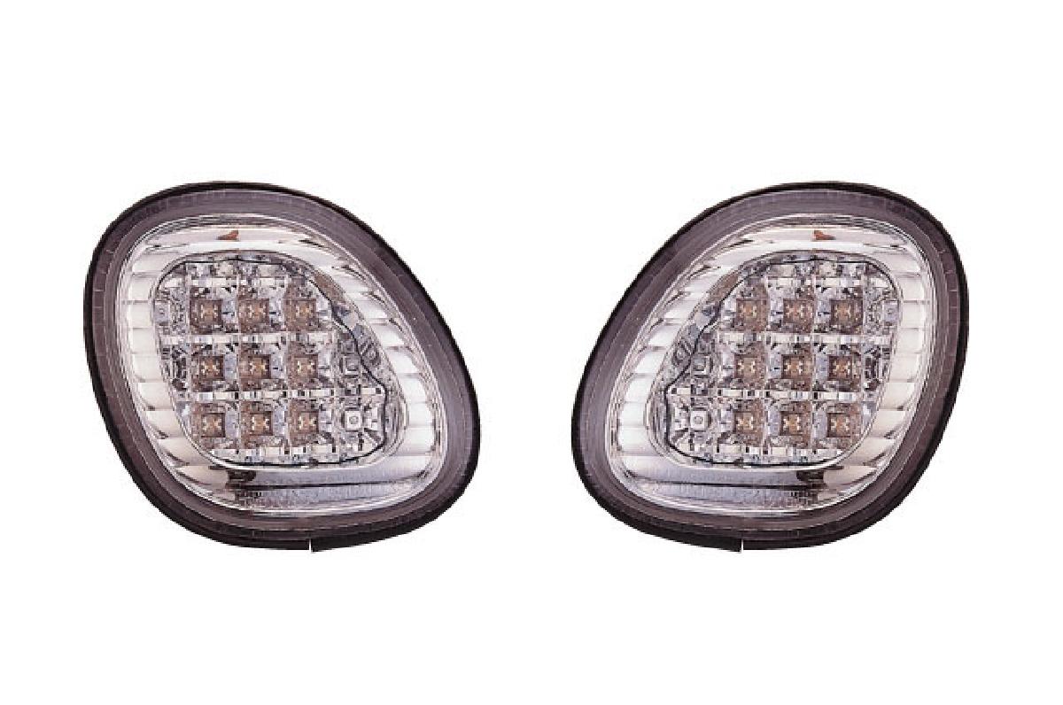 SONAR(ソナー) テールライト トヨタ アリスト LED トランクライト クローム インナー クリスタル レンズ 97-04 JZS160/161 アリスト