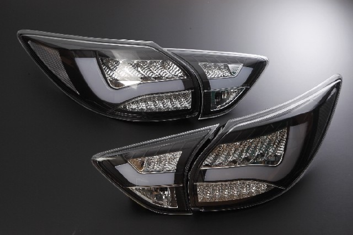 LED マツダ 12- &クリスタル ブラック レンズ CX-5 SONAR(ソナー) マツダ CX-5 テールライト ライトバー テール