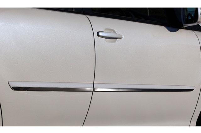 HB-SPORTS(エイチビースポーツ)トヨタ ハリアー アクセント モール 代引き不可■ 3Dラグジュアリートリムサイドモールアクセント 30系ハリアー 4Pcs