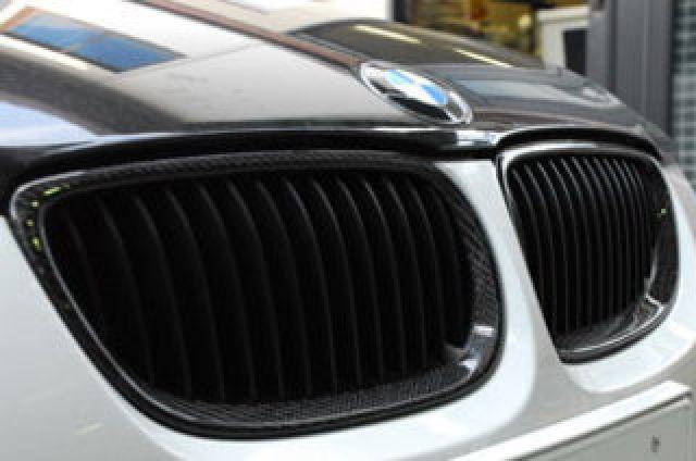 ARQRAY(アーキュレー) BMW 3シリーズ BMW E92 M3クーペ/320i カーボンキドニィグリル