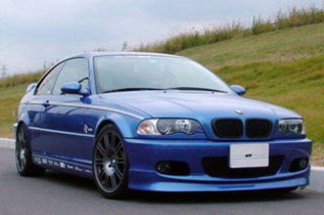 ARQRAY(アーキュレー) BMW 3シリーズ BMW E46 3シリーズ Mスポーツ クーペ用 フロントリップスポイラー