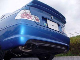ARQRAY(アーキュレー) BMW 3シリーズ BMW E46 3シリーズ Mスポーツ カーボンリアアンダーディフューザー シルバー