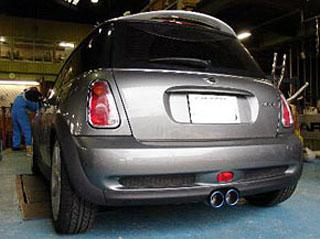 ARQRAY(アーキュレー) BMW BMWミニ チタニウムテール BMW MINI C0OPER-S