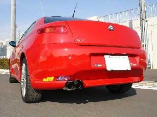 ARQRAY(アーキュレー) アルファロメオ GT ステンレススポーツマフラー アルファロメオGT 2.0 JTS