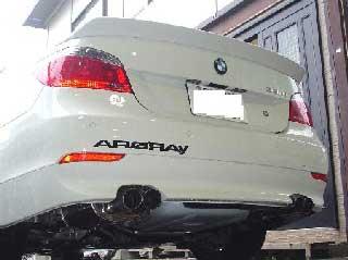ARQRAY(アーキュレー) BMW 5シリーズ ステンレススポーツマフラー BMW E60 525i/530i セダン