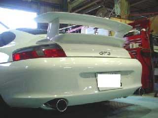ARQRAY(アーキュレー) ポルシェ 911 ステンレススポーツマフラー ポルシェ 911 996 GT3 04~