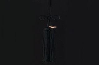 JUNCTION PRODUCE(ジャンクションプロデュース) ふさ 揚巻結び 黒 大(全長約46cm)